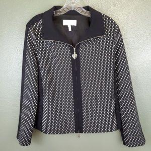 Escada Sport women's black and print jacket R